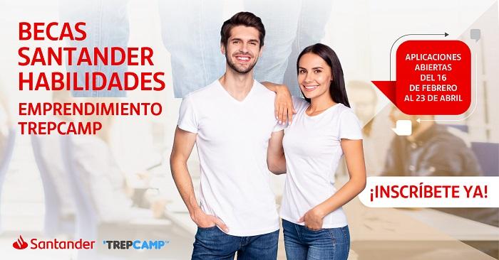 Becas Santander TREPCAMP